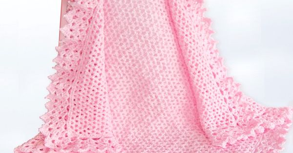 Yarnspirations Com Bernat Lace Border Blanket
