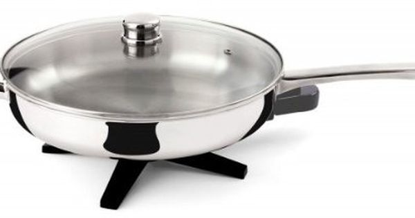 Toastess Dlfp458 Stainless Steel 12 Inch Electric Skillet This Is An Amazon Affiliate L Electric Skillets Stainless Steel Skillet Stainless Steel