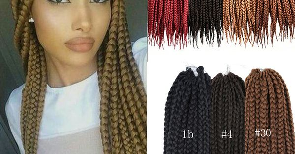 Crochet Box Braids Pinterest : ... for women senegalese crochet twist hair box braids hair Pinterest