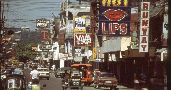 Gordon Avenue, Olongapo, in the late 80's | places i've ...