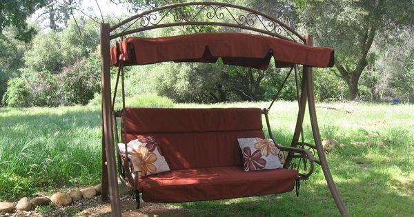 Costco Patio Swing In Tresco Brick Canopy 179 And