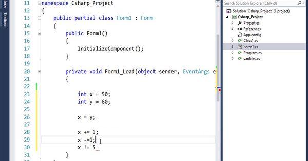 الدورة التاسيسية في تعليم C ملخص رموز لغة السي شارب C Operators Solutions Reference Chart