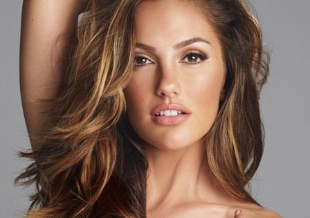 Minka Kelly has gorgeous hair - dark Brunette long hair with honey