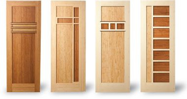 Wow Check Out These Super Cool Bamboo Doors With Images