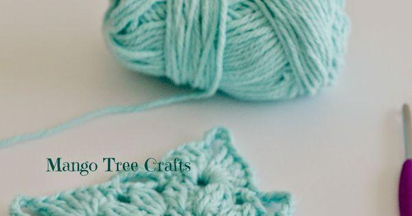Mango Tree Crafts: Crochet Square Pattern and Photo ...
