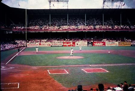 Ebbets Field Brooklyn Baseball Park Mlb Stadiums Baseball Stadium