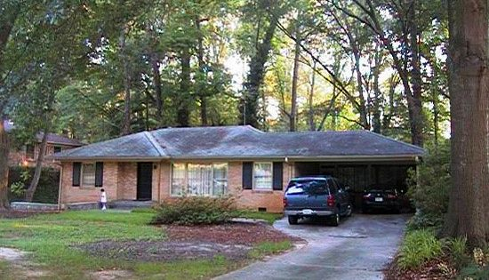 Before And After Home Exteriors Brick Ranch Bricks And
