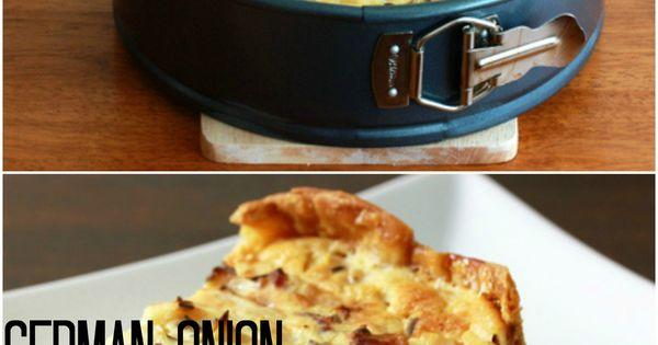 German Onion & Bacon Pie {Zwiebelkuchen}