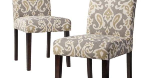 Avington Dining Chair Ikat Set Of 2 Dining Room