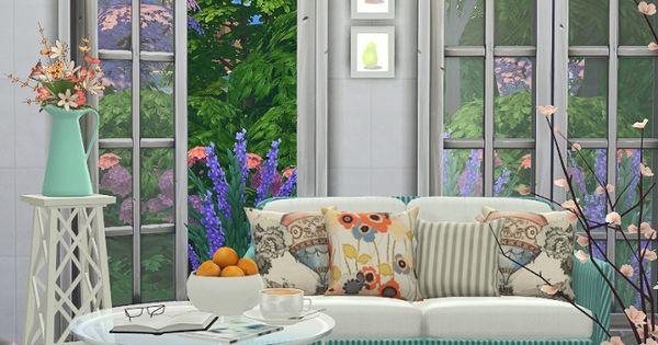 Summer Breeze Livingroom set at Black Cat Phoenix via Sims 4 Updates  Sims 4 ...