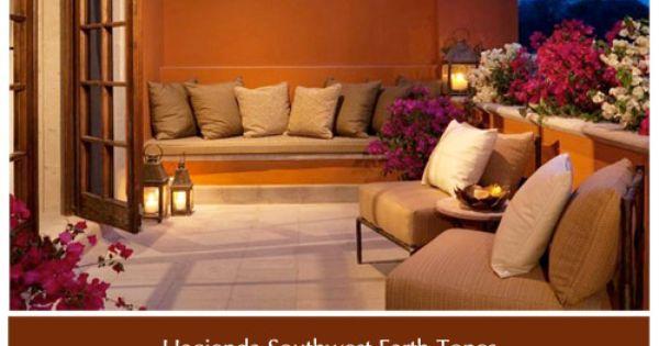 A Hacienda Southwest Decor Color Palette That Works Hacienda Furniture