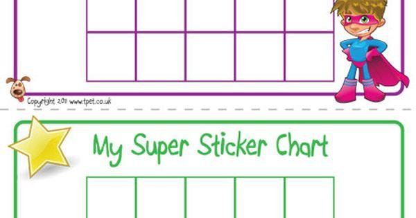 Teacher's Pet - Superhero Sticker Charts - FREE Classroom ...