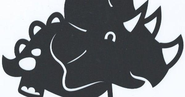 Cute Dinosaur 9 Silhouette By Hilemanhouse On Etsy 1 99