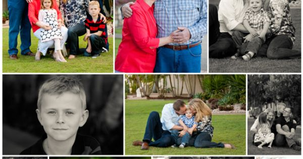 group picture posing ideas - Extended family collage