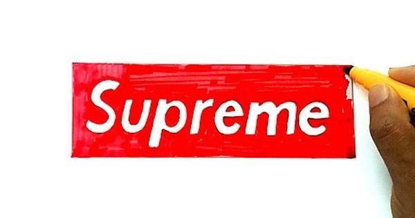 How To Draw The Supreme Logo Supreme Logo Supreme Supreme Wallpaper