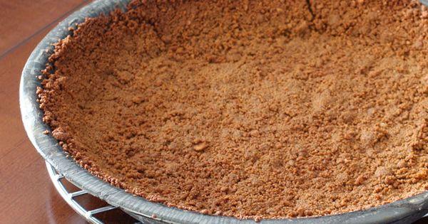 to Make Your Own Graham Cracker Pie Crust   Graham Cracker Pie Crust ...