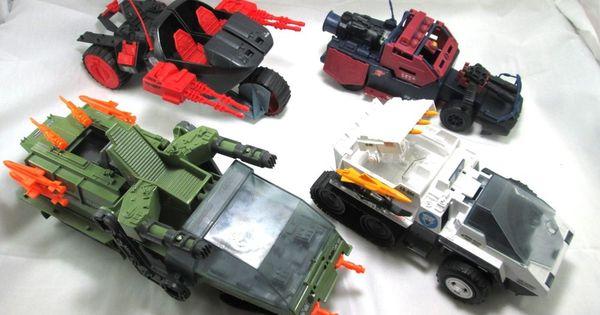 1986 GI Joe Cobra Dreadnok Thunder Machine Front Windshield Armor with Decals
