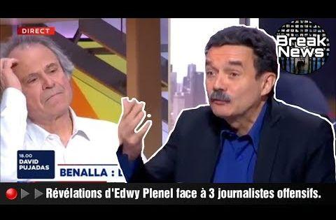 Edwy Plenel Ridiculise Franz Olivier Giesbert Sur Le Metier De Journaliste Youtube