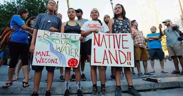 Protests To Block North Dakota Oil Pipeline Are Heating Up Dakota Pipeline Protest Dakota Pipeline Dakota Access