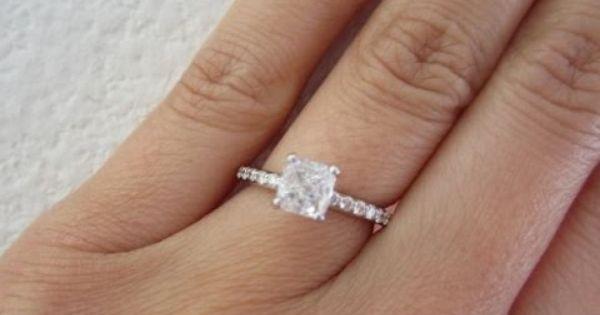 1 5 Carat Diamond Ring 1 5 Carat Diamond Ring Actual Size Engagement Rings Princess Engagement Rings On Finger 1 Carat Engagement Rings