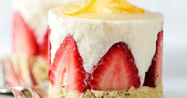 Lemon Poppy Seed Cake With Meyer Lemon Mousse by tartelette, via ...