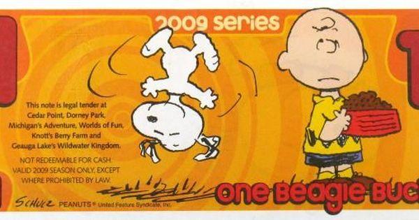 2009 Beagle Buck Michigan Adventures Camp Snoopy Beagle