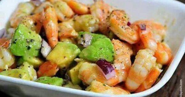 Shrimp avocado | Food... | Pinterest | Shrimp Avocado, Shrimp and ...