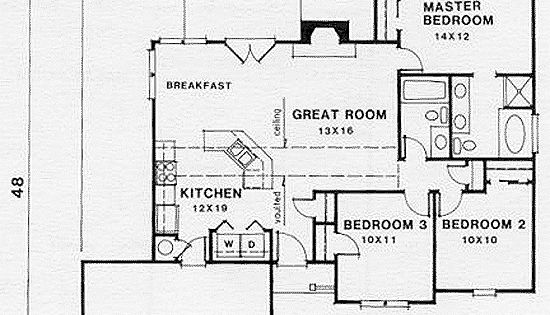 Small Retirement House Plan 45801 At
