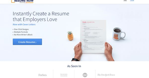Free stuff near me RESUME-NOW Registration Instantly Create a - create a resume