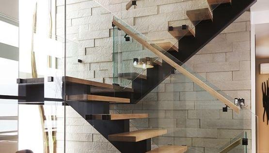 Voici notre mur 3d en b ton v ritable avec fini pierre - Couleur gris charcoal ...