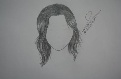 Youtube How To Draw Hair Drawings Step By Step Hairstyles