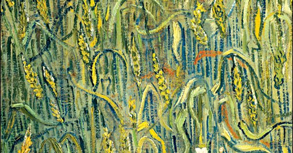 Vincent van Gogh: Ears of Wheat, 1890.
