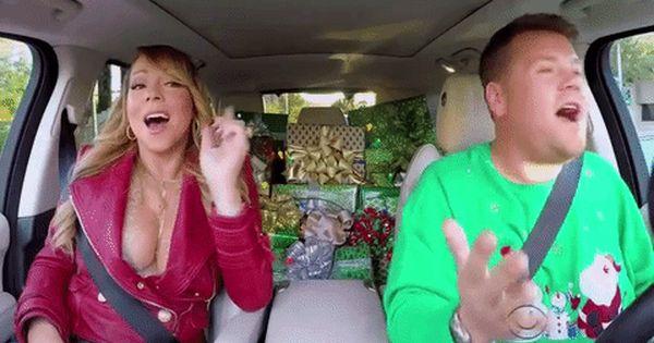 Mariah Carey Diva Gif With Images Carpool Karaoke