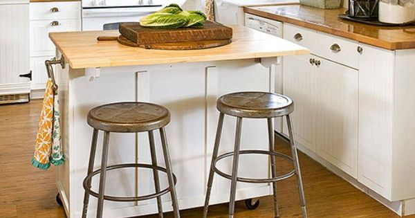 Cheap Small Kitchen Island On Wheels With Seating Island Pinterest Small Kitchen Islands