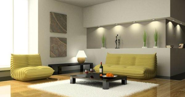 Éclairage LED et types de luminaires dans le salon parfait  Parfait ...