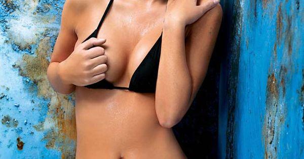 Emma Willis Hotly Rare 2006 Bikini Modelling Pics From