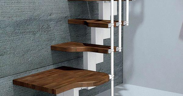 Mini bianco space saver loft staircase space saver loft for Misterstep mini plus