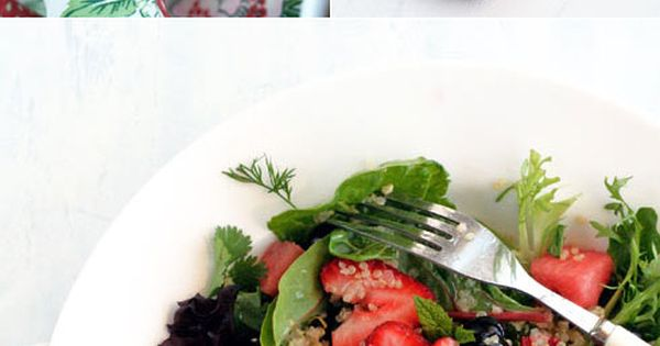 Quinoa Salad with Blueberries, Strawberries and Watermelon | RECIPES ...