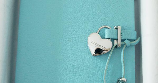 Tiffany Amp Co Diary With Heart Shaped Lock Gossip Girl