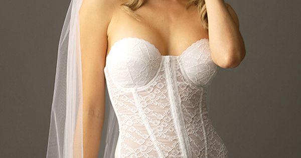 Bride 39 s wedding underwear dress undergarments boudoir for Best shapewear for wedding dress