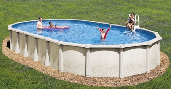 18 X 33 54 Tahitian Resin Above Ground Oval Pool Package