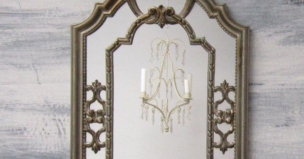 Decorative Vintage Mirrors For Sale Gray Blue Mirror 28