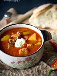 Wegierska Zupa Gulaszowa Homemade Soup Recipe Recipes Food