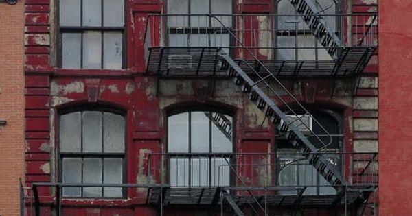 Fire Escape New York City 1940s : Fire escape new york city nyc image gratuite