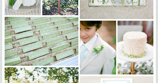 Spring Green + Mint Wedding Mint Wedding Inspiration ♥ How to organise