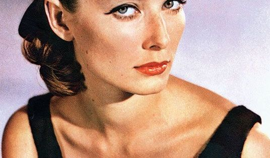 """Tania Mallet: Tania Mallet As Tilly Masterson In """"Goldfinger"""" (1964"""