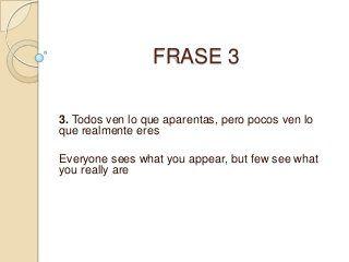 Frases En Ingles Traducidas A Español Frases En Ingles