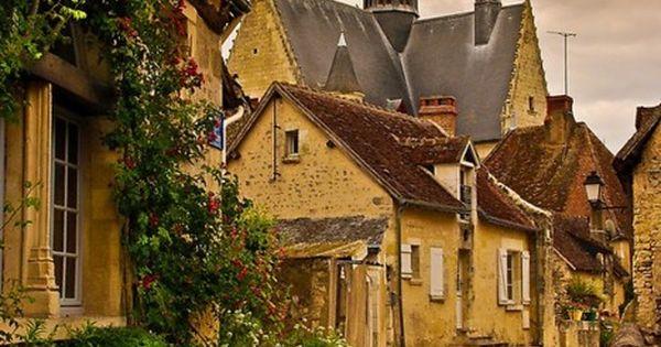 Ancient Village, Montrésor France travel holiday