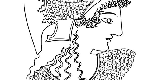 Greek Women s Day coloring page