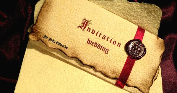 The Northern Bride: Wedding Invitations Part 2 : Luxurious and Medieval   Wedding Ideas ...
